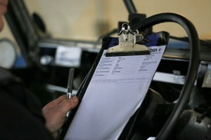 MOT test forms